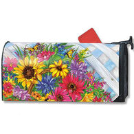 MailWraps Blooming Basket Magnetic Mailbox Cover