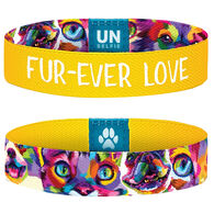Unselfie Women's Fur-Ever Love Wrist Band