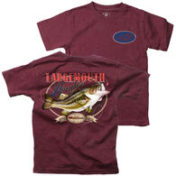 Wes And Willy Boy's Large Mouth Angler Short-Sleeve T-Shirt
