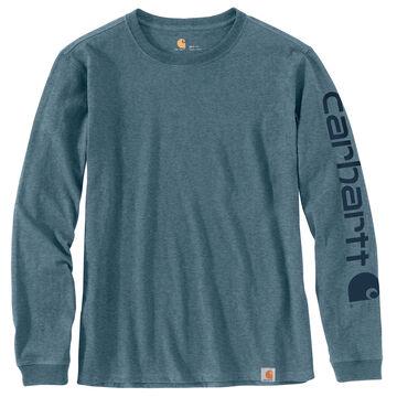 Carhartt Womens WK231 Workwear Logo Long-Sleeve T-Shirt