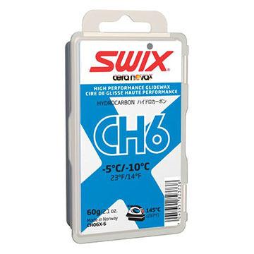 Swix Cera Nova X CH6 Blue Hydrocarbon Glide Wax - 60g.