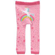 Doodle Pants Toddler Girls' Rainbow Unicorn Legging