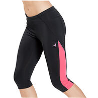 New Balance Women's Lace Up for a Cure Komen Go 2 Capri Pant