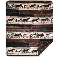 Monterey Mills Denali Horse Throw Blanket