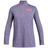 Under Armour Girls' UA Tech 1/2 Zip Long-Sleeve Shirt