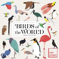 Birds of the World 2020 Wall Calendar by Workman Publishing Pop Chart Lab