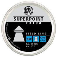 RWS Superpoint Extra 177 Cal. Pointed Airgun Pellet (500)