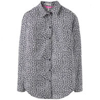Joules Women's Lucie Printed Woven Long-Sleeve Shirt