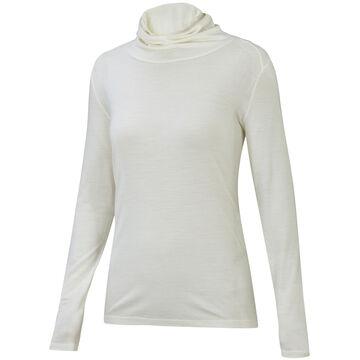 Ibex Womens Essential Funnel Neck Long-Sleeve Shirt