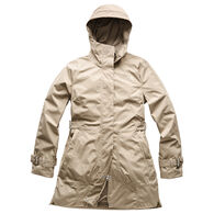 The North Face Women's City Breeze Rain Trench Coat