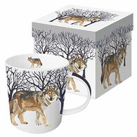 Paperproducts Design Winter Wolf Mug