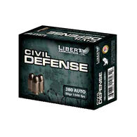 Liberty Civil Defense 380 Auto 50 Grain Lead-Free HP Handgun Ammo (20)