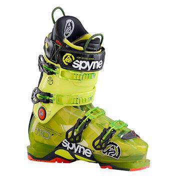 K2 Mens SpYne 110 HV Alpine Ski Boot - 15/16 Model