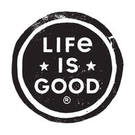 Life is Good LIG Coin Small Die Cut Decal