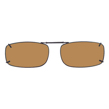 Cocoons Rectangle 15 Polarized Clip-On Sunglasses