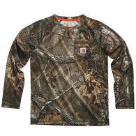 Carhartt Boy's Camo Raglan Long-Sleeve Shirt