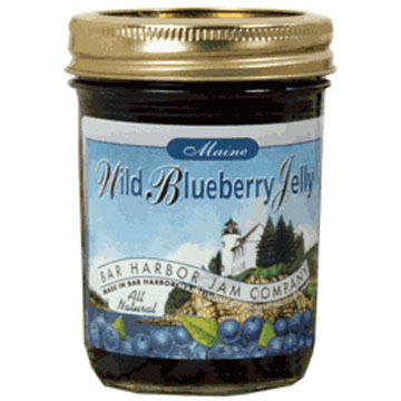 Bar Harbor Jam Company Blueberry Jelly