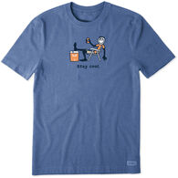 Life is Good Men's Stay Cool Vintage Crusher Short-Sleeve T-Shirt