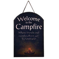 Ohio Wholesale Campfire Welcome Slate Sign