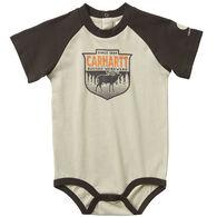 Carhartt Infant Boy's Raglan Graphic Short-Sleeve Bodyshirt