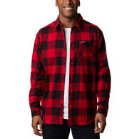 Columbia Men's Outdoor Elements Printed Flannel Long-Sleeve Shirt