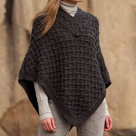Aran Crafts Women's Nua Merino Wool Poncho