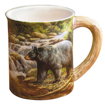 Wild Wings Shadow of the Forest Bear Mug