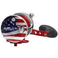 Avet MXL 6/4 Raptor 2-Speed Lever Drag Patriot Saltwater Casting Reel - Limited Edition