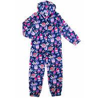 Candy Pink Girl's Galaxy Food Pajama Onesie