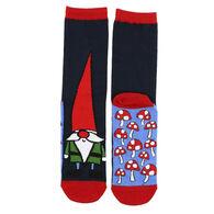 Lazy One Women's Gnome Crew Sock