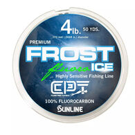Clam CPT Frost Ice Fluorocarbon Ice Fishing Line - 50 Yards