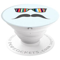 PopSockets Mustache Rainbow Mobile Device Expanding Stand & Grip