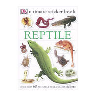 Ultimate Sticker Book: Reptile by DK Publishing