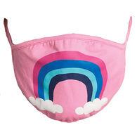 Hatley Little Blue House Adult Rainbow Non-Medical Reusable Face Mask