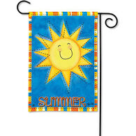 BreezeArt Summer Sun Garden Flag