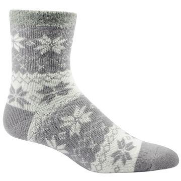 Woolrich Mens Aloe Vera Snowflake Double Layer Sock
