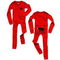 Lazy One Toddler Boys' & Girls' FlapJack Union Suit