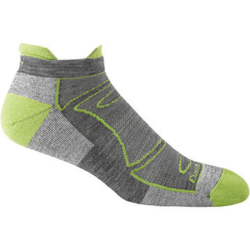 Darn Tough Vermont Mens No Show Light Tab Cushion Sock