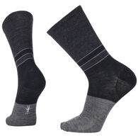 SmartWool Men's Color Block Denim Crew Sock - Special Purchase