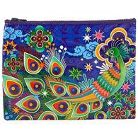 Blue Q Women's Peacock Zippered Pouch