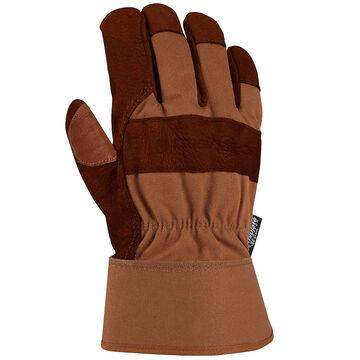 Carhartt Mens Insulated Bison Leather Safety Work Glove