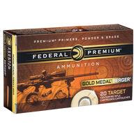 Fusion Berger Gold Medal 6.5 Creedmoor 130 Grain Berger AR Hybrid OTM Tactical Rifle Ammo (20)