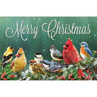 Pumpernickel Press Merry Christmas Birds Deluxe Boxed Greeting Cards