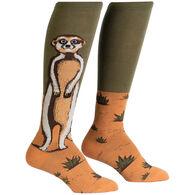 Sock It To Me Women's Meerkat Manner Knee High Socks