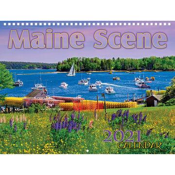 Maine Scene Maine Scene 2021 Wall Calendar