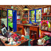 White Mountain Jigsaw Puzzle - Dad's Hideaway