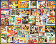 White Mountain Jigsaw Puzzle - Great Old Ads