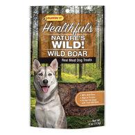Ruffin' It Healthfuls Nature's Wild! Wild Boar Dog Treat - 4 oz.