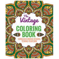 The Vintage Coloring Book: Gorgeous Vintage Designs to Make Your Own by Editors of Thunder Bay Press
