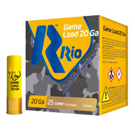 "Rio Game Load Field Load 20 GA 2-3/4"" 1 oz. #8 Shotshell Ammo (25)"